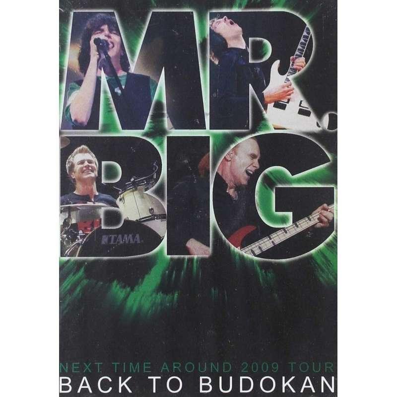 Mr. Big - Back To Budokan - 2 Dvd