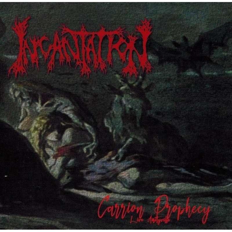 INCANTATION  - Carrion Prophecy - Cd Bootleg