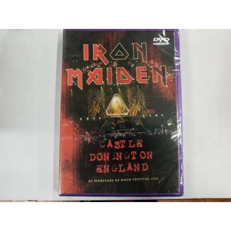Iron Maiden - Castle Donington England (At Monsters Of Rock Festival - DVD