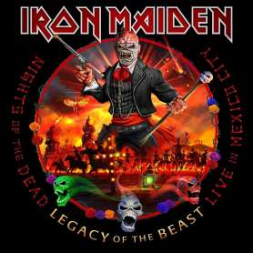 IRON MAIDEN - Nights Of The Dead Legacy Of The Beast - 2cd