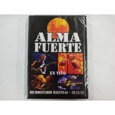 ALMAFUERTE - En vivo - Microestadio Malvinas - Cd DvD
