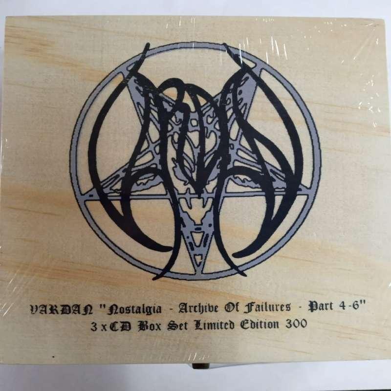 VARDAN - Nostalgia - Archive Of Failures - Part 4-6 - BOX 3cd