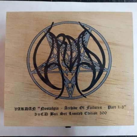 VARDAN - Nostalgia - Archive Of Failures - Part 1-3 - BOX 3Cd
