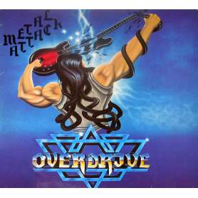 OVERDRIVE - Metal Attack - Cd