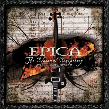 EPICA - The classical conspiracy - Live in Miskolc - 2Cd