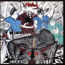 ARTILLERY  - terror squad - Cd Slipcase + Poster