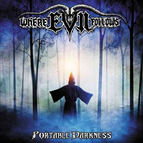 WHERE EVIL FOLLOWS - portable darkness - Cd