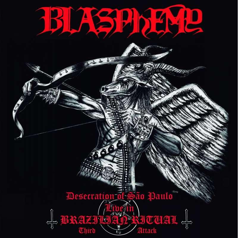 BLASPHEMY - Desecration Of São Paulo - Live In Brazilian Ritual - Third Attack - Cd