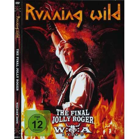 Running Wild - The Final Jolly Roger Wacken 2009 - DVD