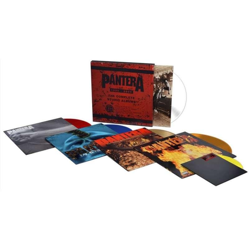 PANTERA - The Complete Studio Albums 1990-2000 - BOX