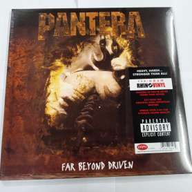 PANTERA - 2LP - Far Beyond Driven