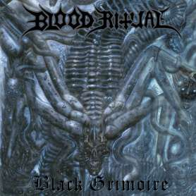 BLOOD RITUAL - black grimoire - CD