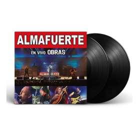 ALMAFUERTE  - 2LP - En vivo obras