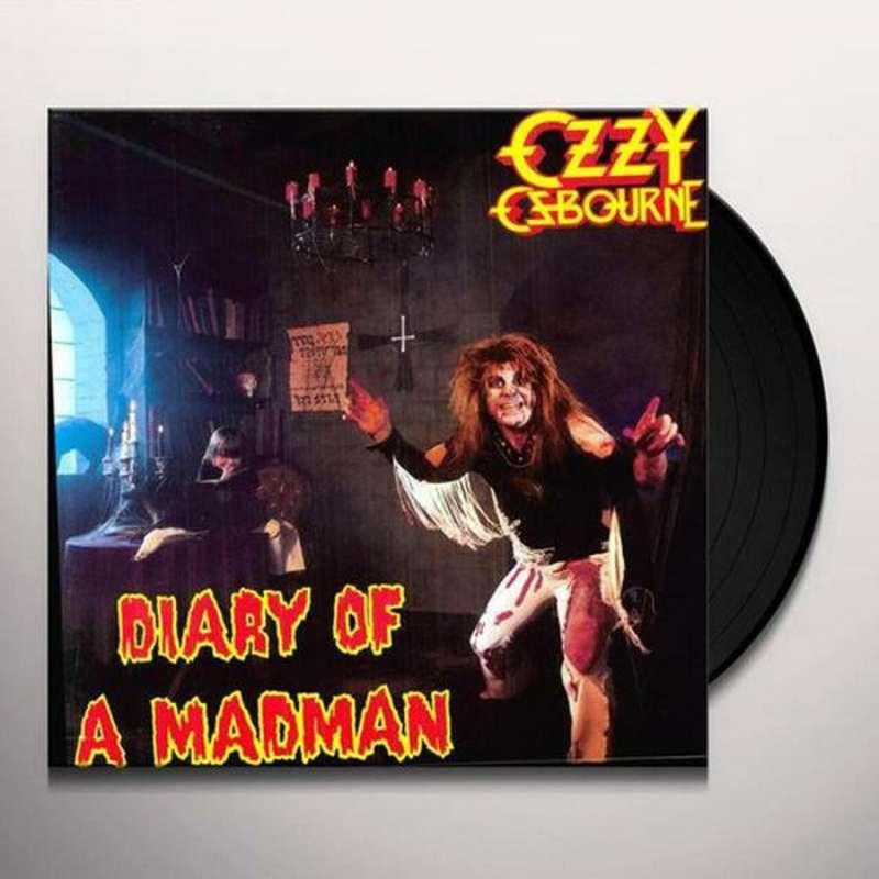 OZZY OSBOURNE - LP - Diary of a madman