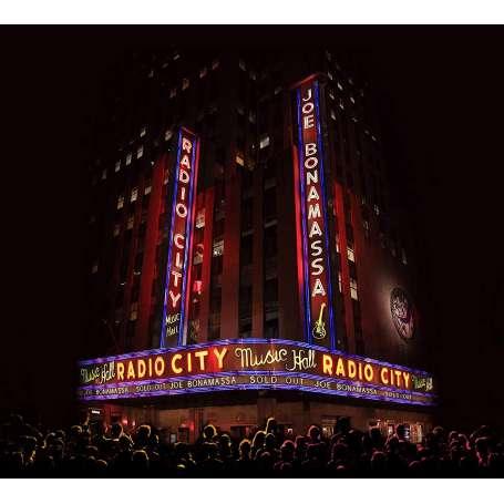 JOE BONAMASSA - Live at Radio City Music Hall - Cd+DVD