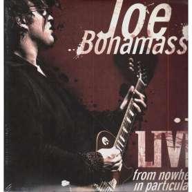JOE BONAMASSA - Live from nowhere in particular