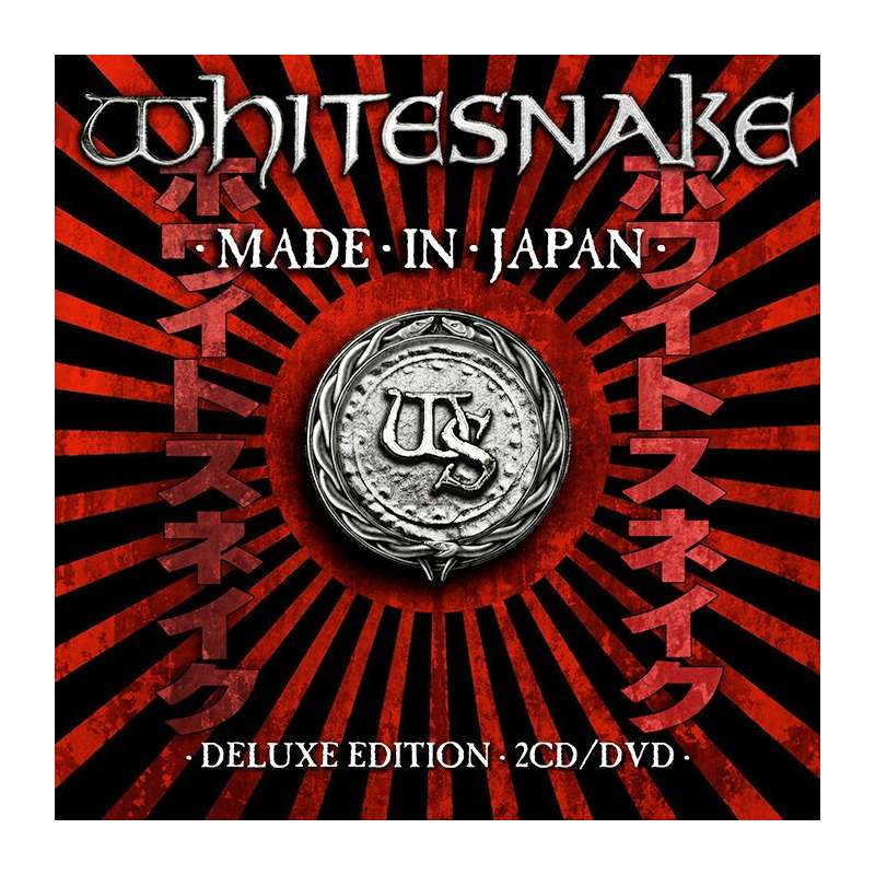 WHITESNAKE - Made In Japan - CD + DVD - DIGI