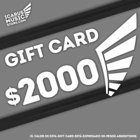 GIFT CARD | 2000 ARS