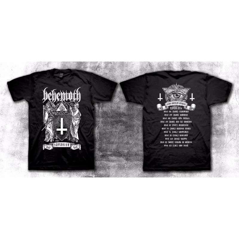 BEHEMOTH  - The Satanist - Tour 2014 - Remera