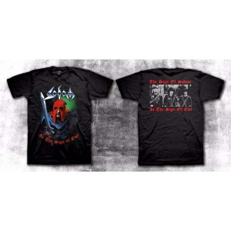 SODOM - In The Sign Of Evil - Remera