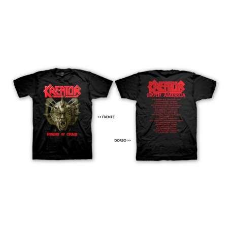 KREATOR  - Hordes Of Chaos Tour 2009 - Remera