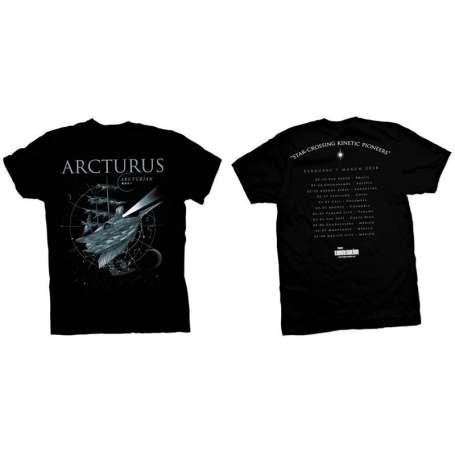 ARCTURUS - Remera tour - 2018 Mod 1