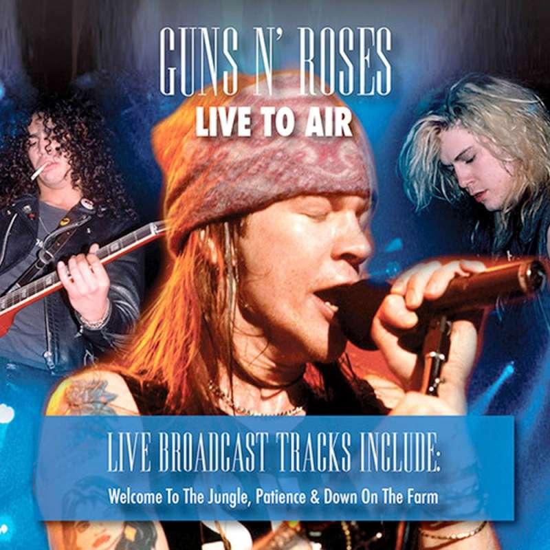 GUNS N' ROSES - Live to Air