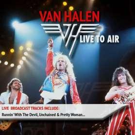 VAN HALEN - Live To Air - Cd