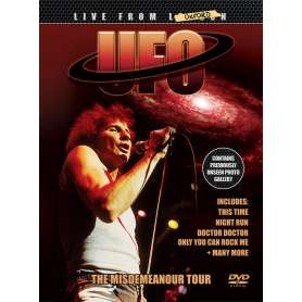 UFO - Live From London Oxford (The Misdemeanour Tour) - Cd