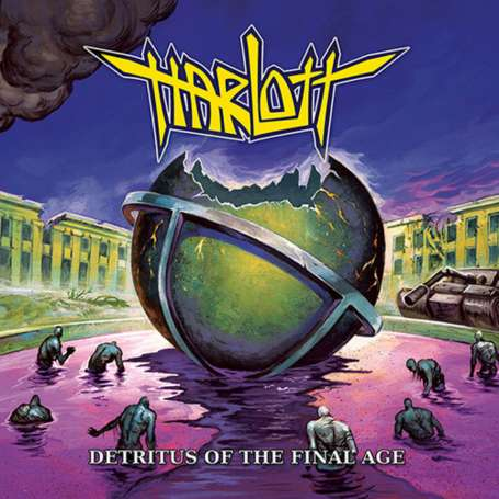 HARLLOT - Detritus Of The Final Age - Cd Slipcase
