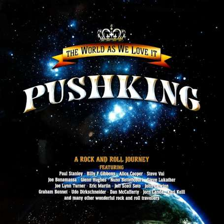 PUNSHKING - The World As We Love It - Cd