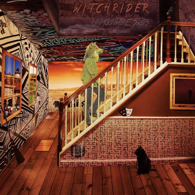 WITCHRIDER - Unmountable Stairs - Cd