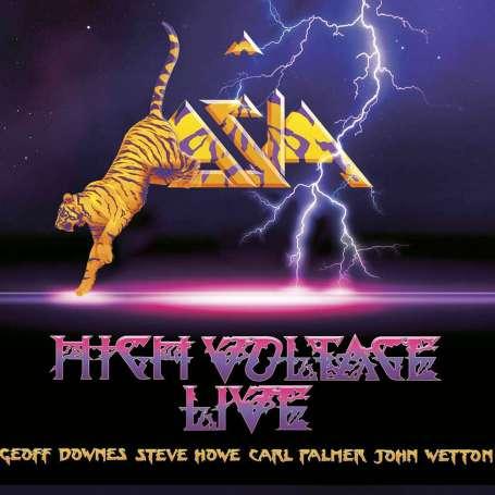 ASIA - High Voltage Live - CD+DVD