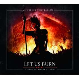 WITHIN TEMPTATION - Let Us Burn - 2CD