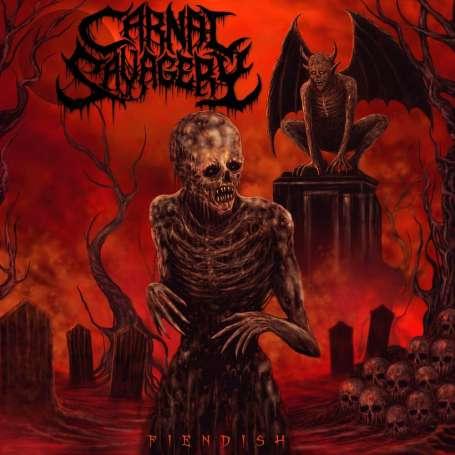 CARNAL SAVAGERY - Fiendish - Cd