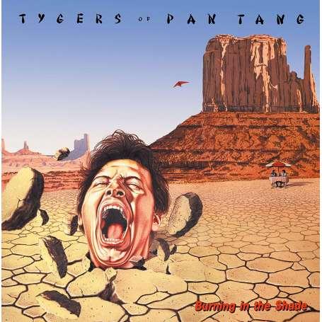 TYGERS OF PAN TANG  - Burning In The Shade - Cd slipcase
