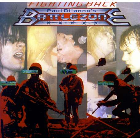 PAUL DIANNOS - Battlezone - Fighting Back - Cd