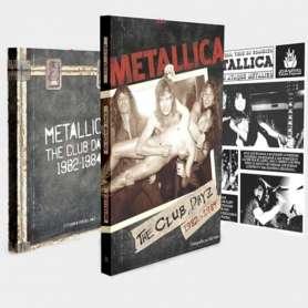 METALLICA - The Club Dayz 1982-84 - Libro