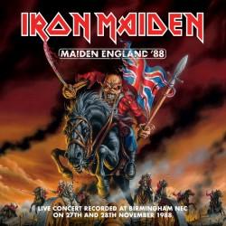 IRON MAIDEN - Maiden England '88 2CD