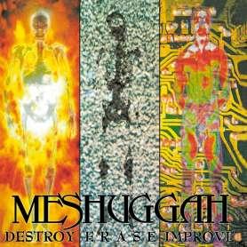 MESHUGGAH - Destroy erase...