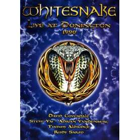 WHITESNAKE - Live At Donington 1990 - DVD