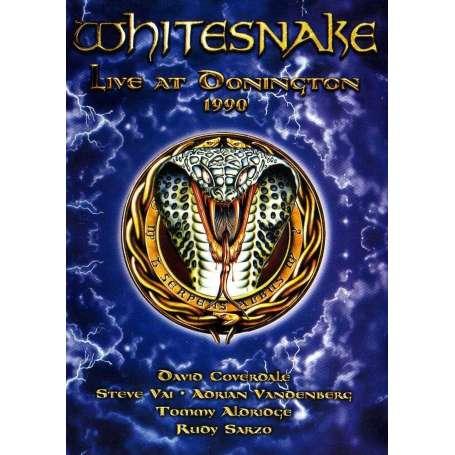WHITESNAKE - Live At Donington 1990 - DVD