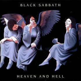BLACK SABBATH - Heaven And...
