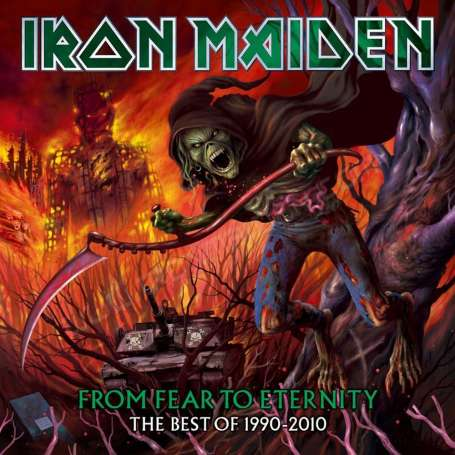 IRON MAIDEN - From fear to Eternity The Best of 1990 /2010 - 2Cd