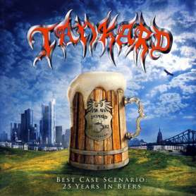 TANKARD - Best Case Scenario: 25 Years In Beers - Cd