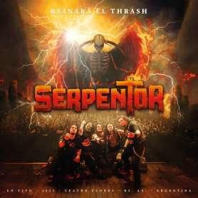 SERPENTOR  - Reinara el Thrash - DVD