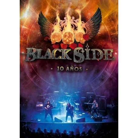 BLACK SIDE - 10 Años - DVD