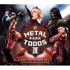 METAL PARA TODOS IV DVD
