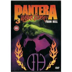 PANTERA - 3 vulgar videos...
