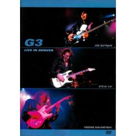 G3 - Live in denver dvd